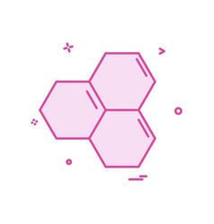 honey icon design vector image