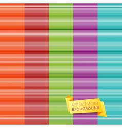 Set of abstract striped pattern wallpaper vector image