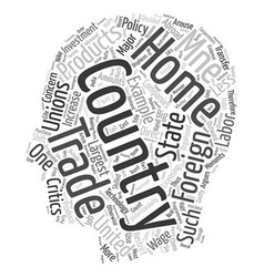 The impact of mnes text background wordcloud vector
