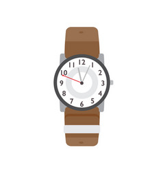 Wristwatch flat modern vector