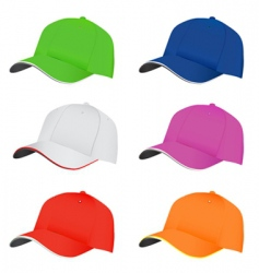 hat set vector image vector image