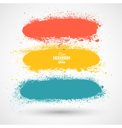 Summer Style Grunge Banners vector image