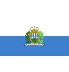 San Marino flag image vector image