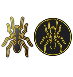 ant icon vector image vector image
