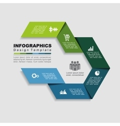 Design template with place for your data vector image