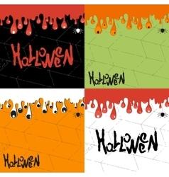 Helloween background vector