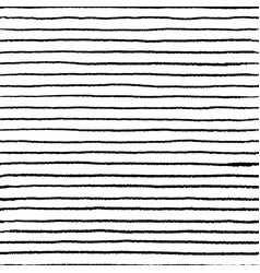 seamless stripe doodle pattern wavy linear doodle vector image