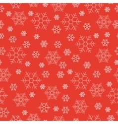 Winter holiday seamless patterns with white vector