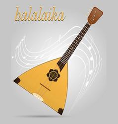 Balalaika musical instruments stock vector