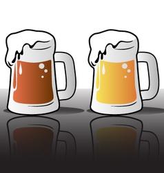 Various beers vector