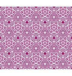 Red abstract curls seamless pattern vector image vector image