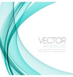 Abstract color lines background Template leaflet vector image