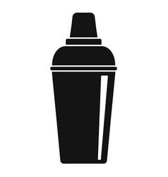Bar shaker icon simple style vector