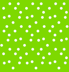 Bright green summer background random circles vector