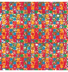 colors print pattern vector image