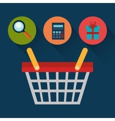 Shopping and ecommerce vector