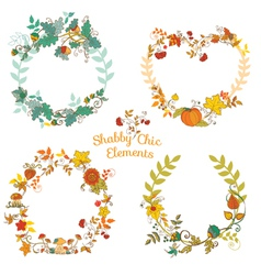 Autumn Banners and Tags vector image