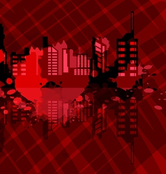 criminal city vector image