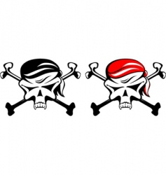 pirate symbol vector image