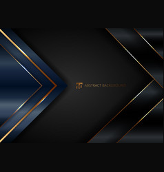 abstract elegant blue geometric triangle overlap vector image