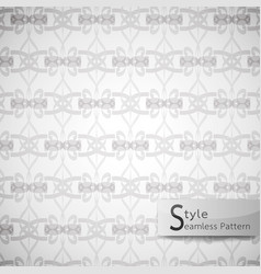Abstract seamless pattern lattice striped bow vector