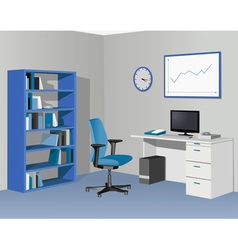 CabinetOfficeInBlue vector