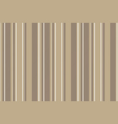 Coffee color striped backround seamless pattern vector