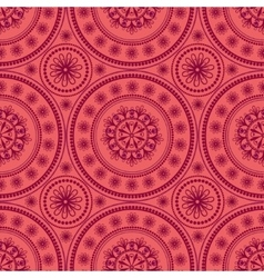 Kaleidoscopic floral pattern vector