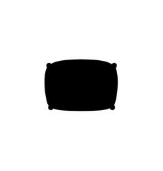 pillow icon vector image