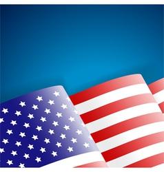 American Flag vector image
