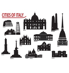 City of Italy vector image