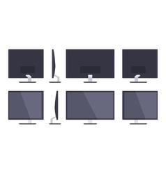 HD Monitor vector image
