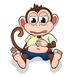 A monkey vector image vector image