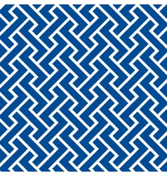 pattern seamless chevron blue vector image vector image