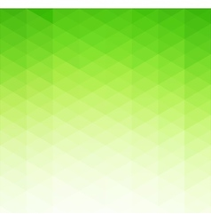 Abstract green geometric background Template vector image