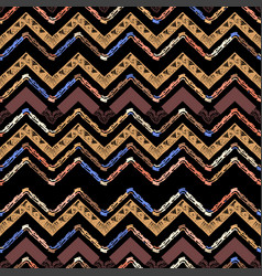 abstract zigzag pattern for a cover design vector image