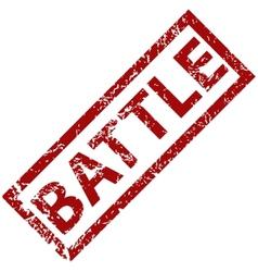 Battle rubber stamp vector