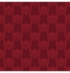Damask style background vector