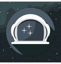 Digital with astronaut helmet icon vector image