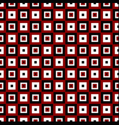 Geometrical repeating pattern - square background vector