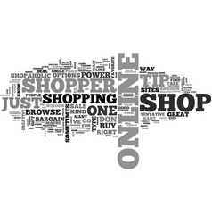What kind of shopper are you text word cloud vector