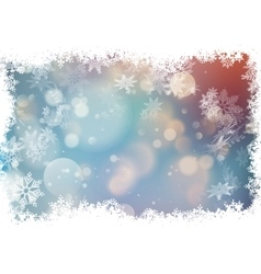 Bokeh colorful background EPS 10 vector image vector image