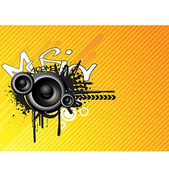 Music absrtact design vector image vector image