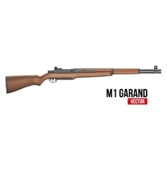 Rifle M1 Garand vector image