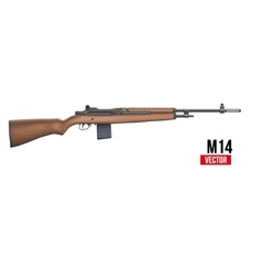 M14 rifle vector image vector image