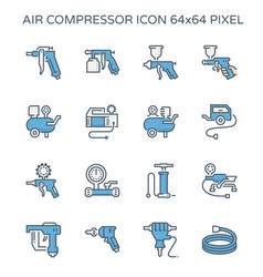 20150726 air compressor pump icon cl2 vector