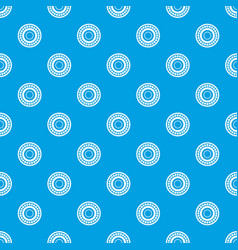 bearing pattern seamless blue vector image