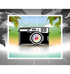 Dream about summer vacations vector image