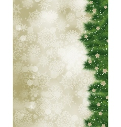 Elegant christmas card vector