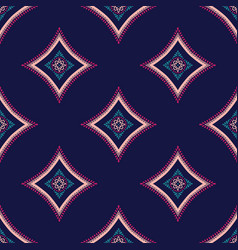 Intricate pattern tile background vector